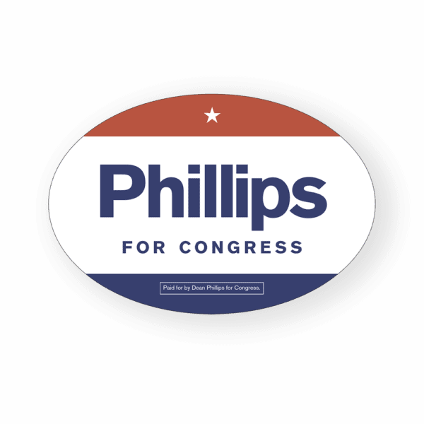 Phillips for Congress car magnet
