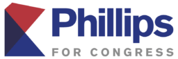 Phillips for Congress logo large